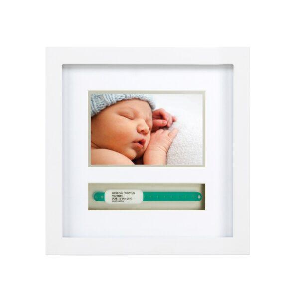 Cornice per braccialetto nascita - small - Pearhead