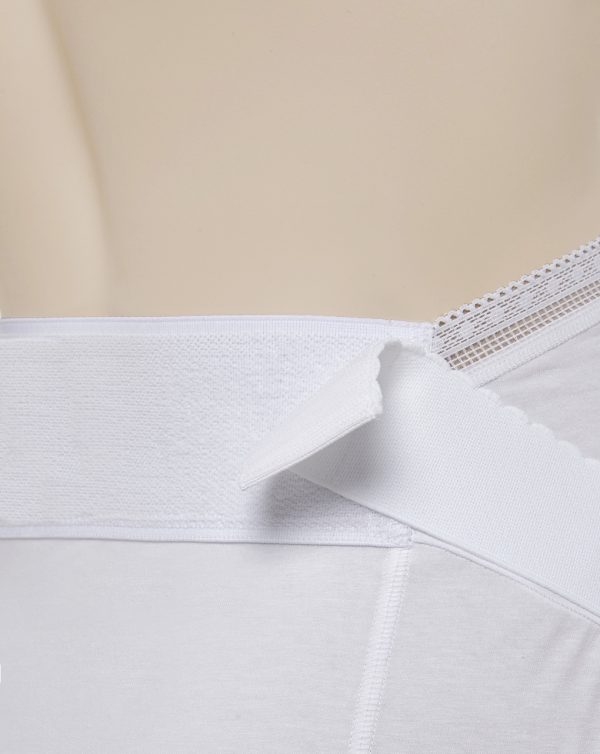 Guaina gestante bianca - Prénatal