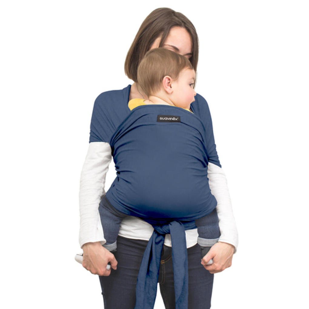 Fascia porta bebè blu - Suavinex