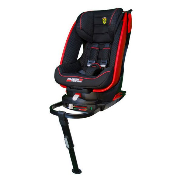 Saturn Isofix Ferrari black red (gruppo 1) - Migo