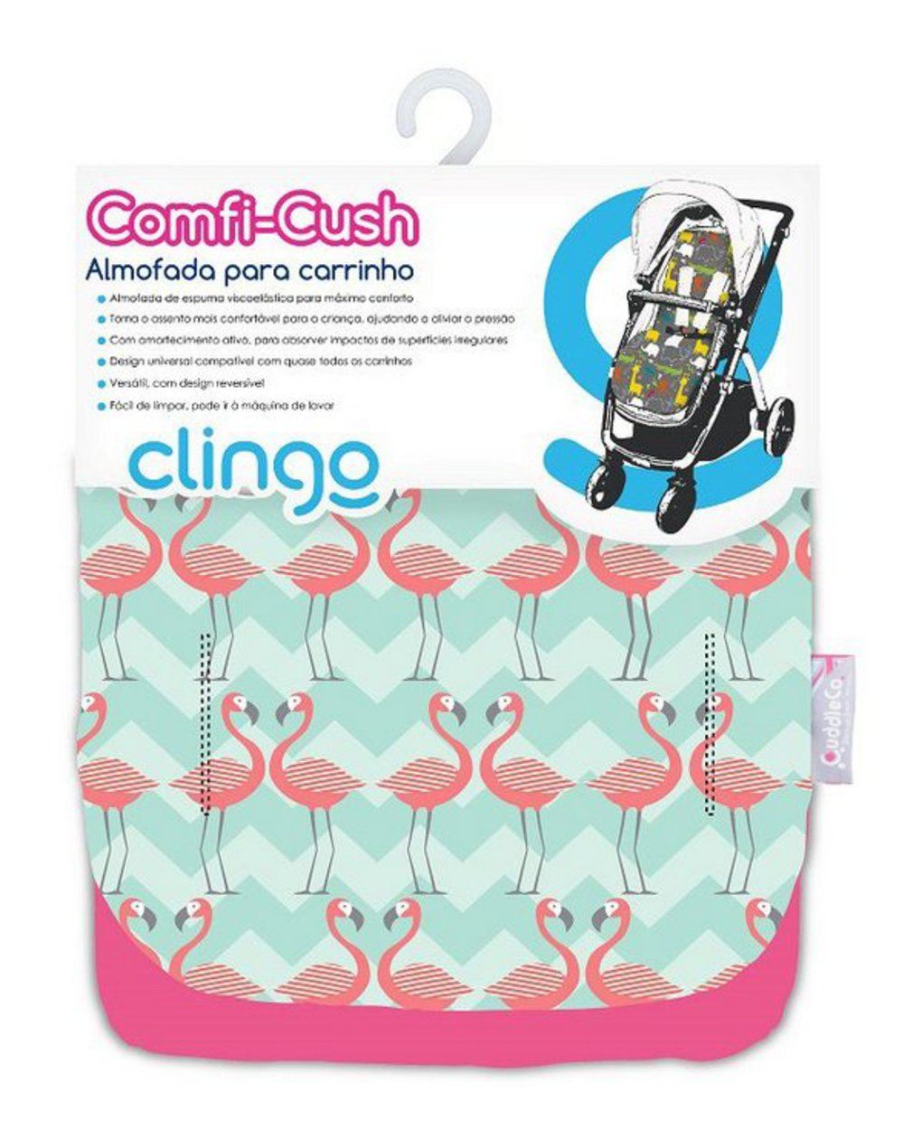 Comfi-cush mem flamingo - Cuddleco