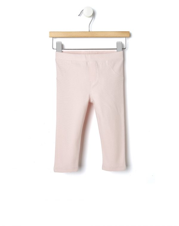 Jeggings in felpa rosa pastello - Prénatal
