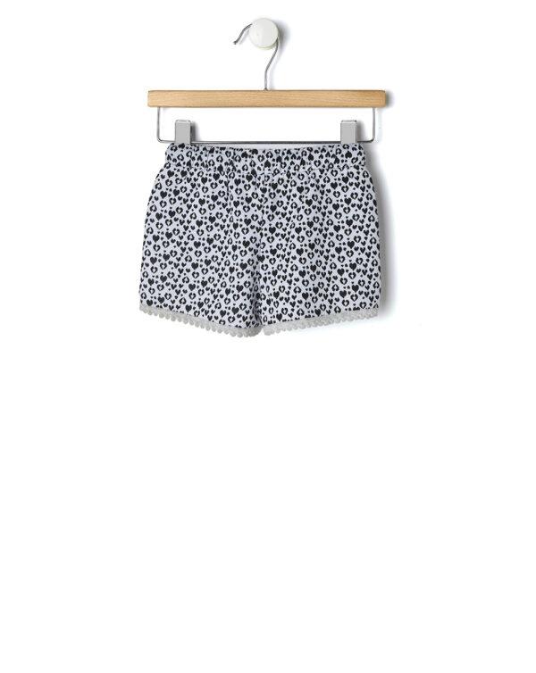 Shorts bianco effetto maculato - Prénatal