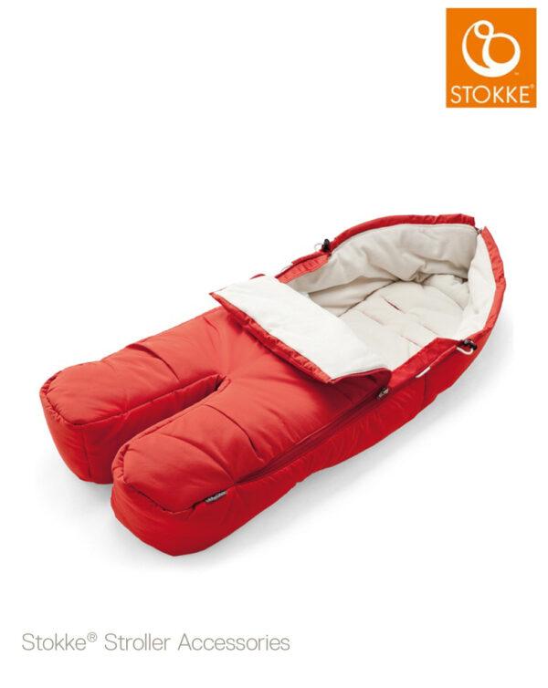Stokke® Sacco Coprigambe - red - Stokke