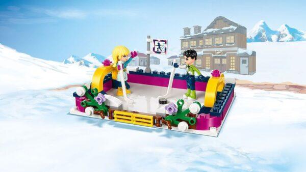 LEGO® Friends - La pista di pattinaggio del villaggio invernale (6-12 anni) - Prénatal