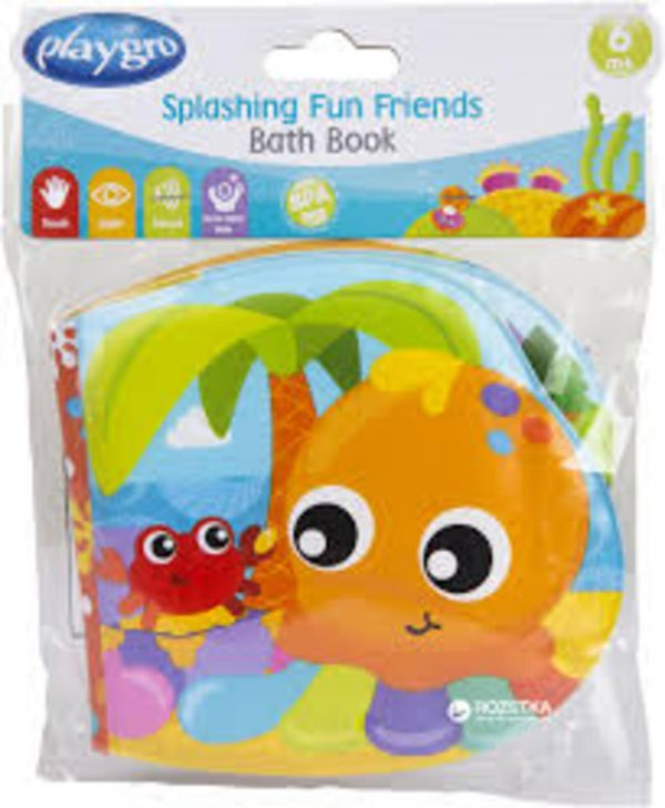 SPLASHING FUN FRIENDS BATH BOOK - Prénatal
