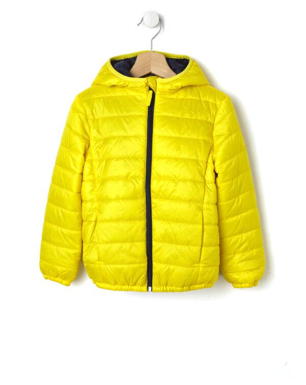 Piumino giallo con cappuccio - Prénatal