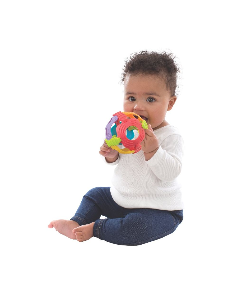 Shake rattle and roll ball (gn) - Playgro