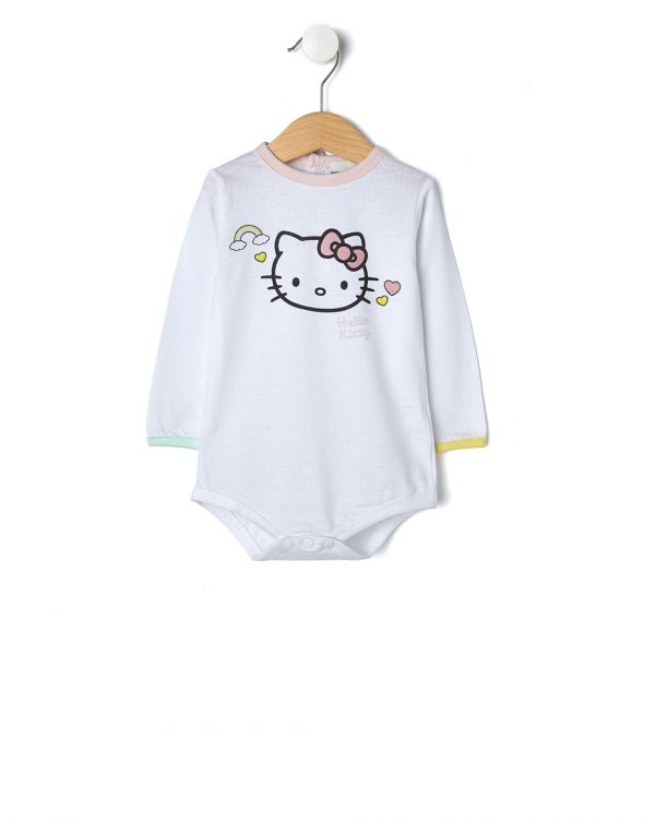 Body bianco con stampa Hello Kitty - Prénatal