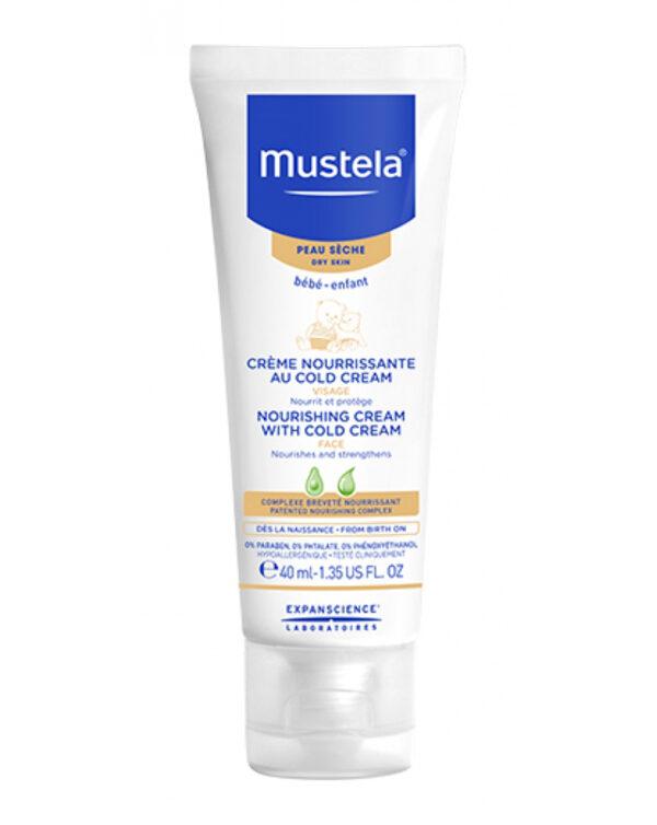 Crema nutriente alla cold cream 40ml. - Mustela