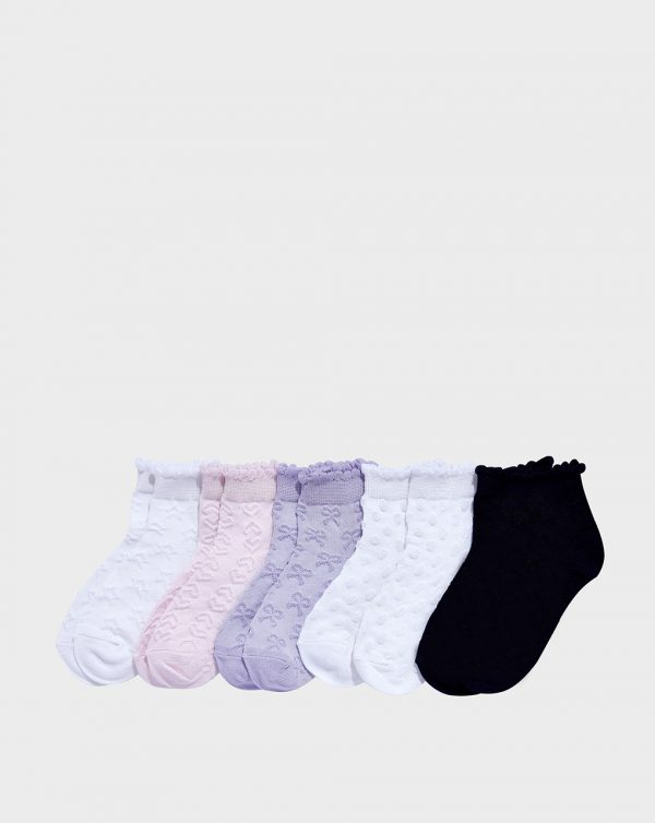 Pack 5 paia di calze corte bambina - Prénatal