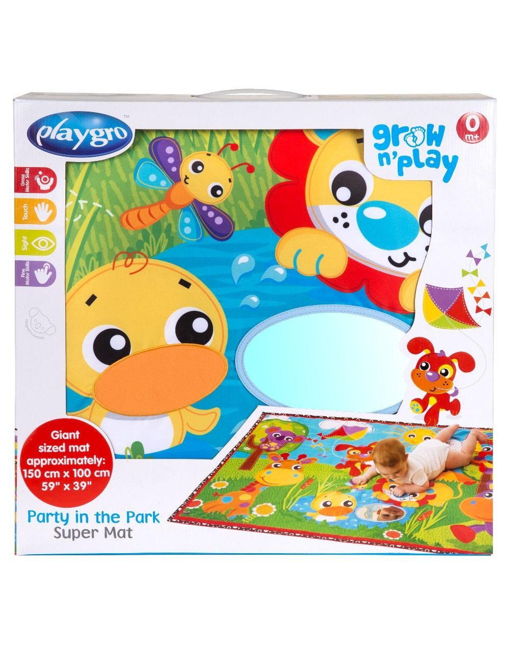 Party in the park jumbo mat - Playgro