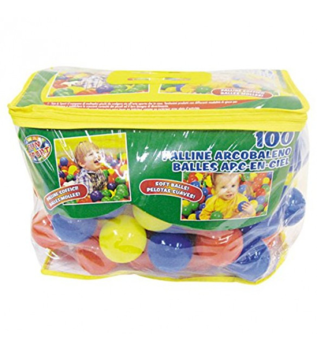 Sun&sport - sacca con 100 palline diam 6cm - Sun&Sport