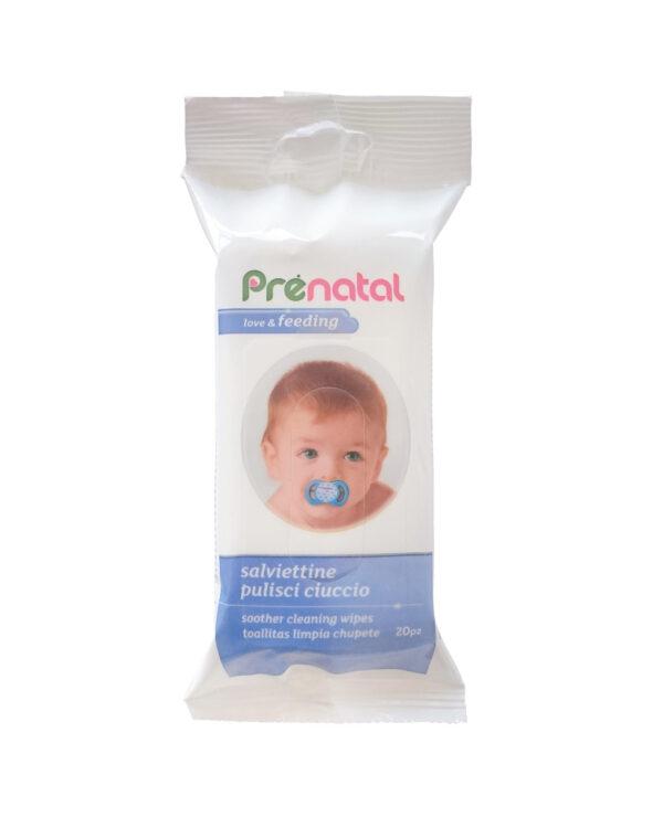 Salviette pulisci ciuccio 20pz - Prénatal