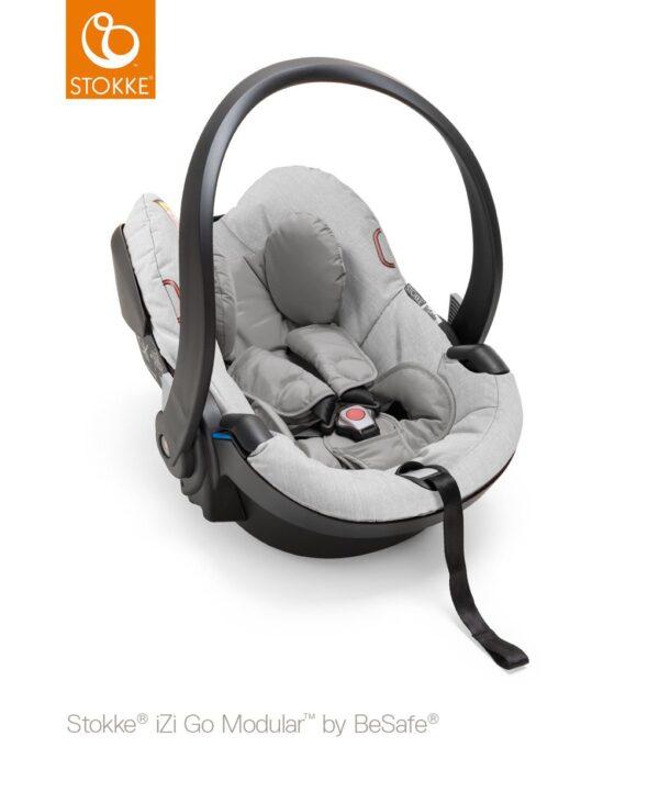 Stokke® iZi Go Modular™ by BeSafe® - grey melange - Stokke
