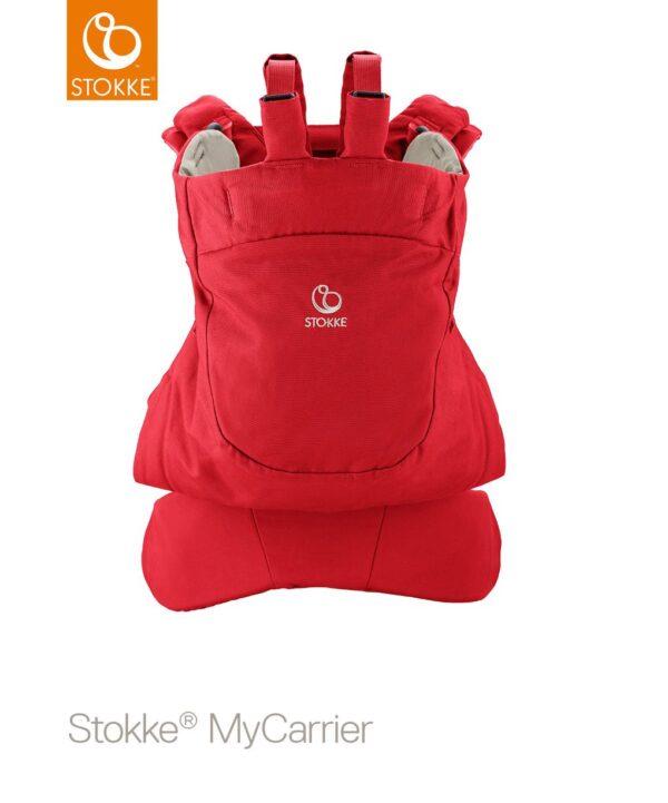 Stokke® MyCarrier™ Marsupio anteriore e posteriore - red - Stokke