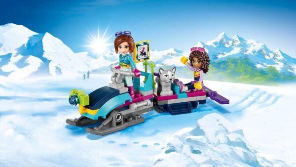 LEGO® Friends - Lo chalet del villaggio invernale (7-12 anni) - Prénatal