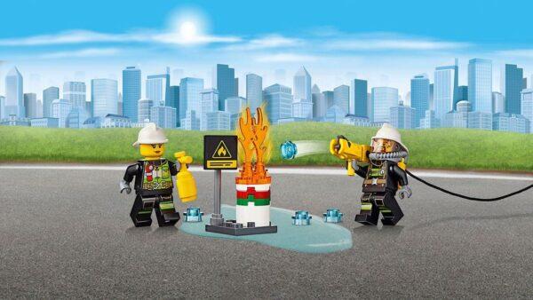 LEGO® City - Autopompa dei vigili del fuoco (5-12 anni) - Prénatal