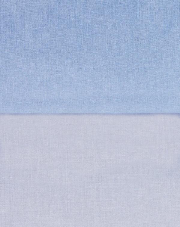 Paracolpi bicolore azzurro - Prénatal