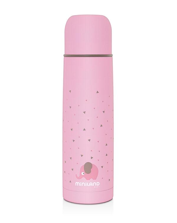 Silky thermos pink 500ml - Miniland