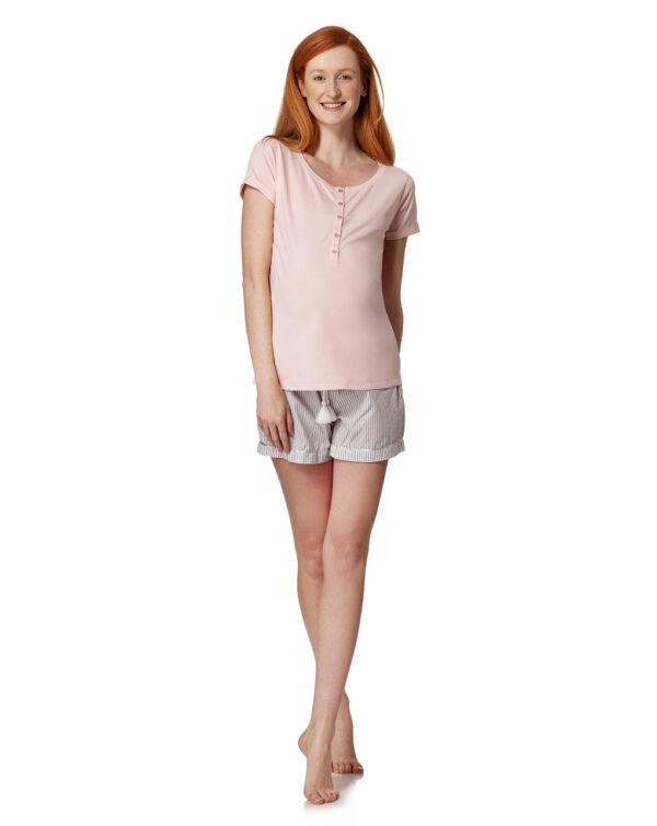 T-shirt pigiama con bottoni - Prénatal