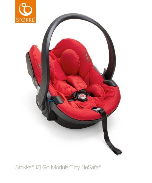 Stokke® iZi Go Modular™ by BeSafe® - red - Stokke
