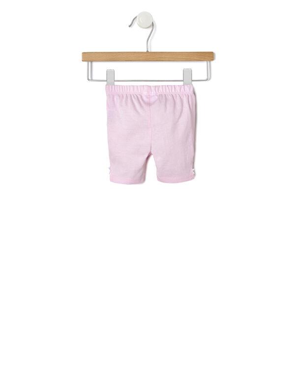 Completo con abitino bianco e rosa con tulle - Prénatal
