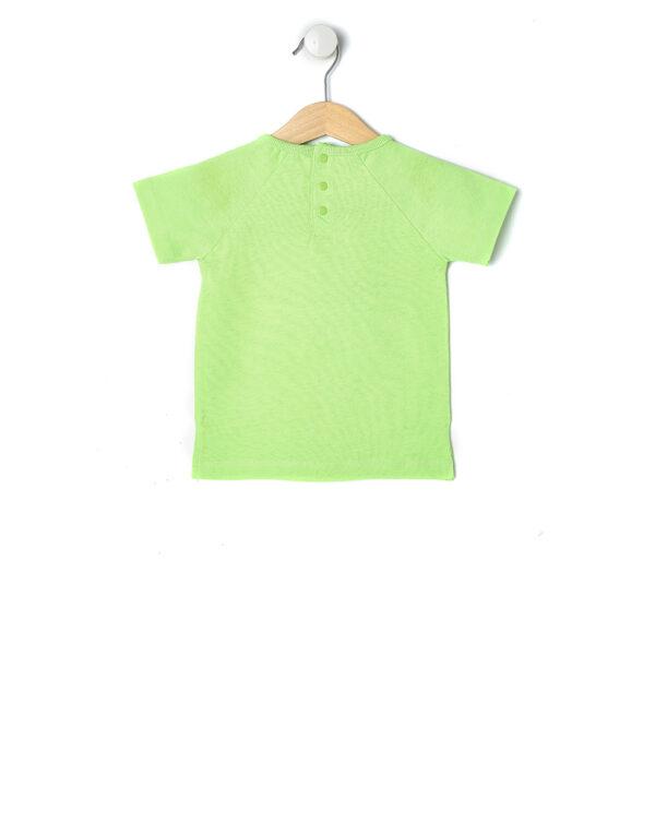 T-shirt verde fluo con rana - Prénatal