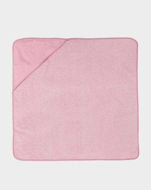 Accappatoio in spugna rosa - Prénatal