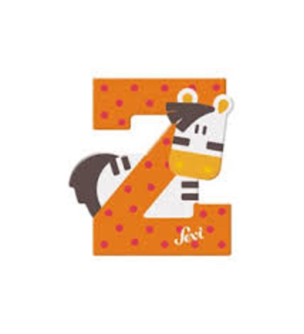 Lettera z zebra - Sevi