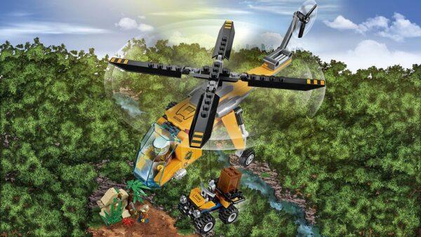 LEGO® City - Elicottero da carico della giungla (5-12 anni) - Prénatal
