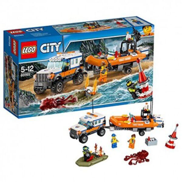 LEGO® City - Unità di risposta con il fuoristrada 4x4 (5-12 anni) - Prénatal