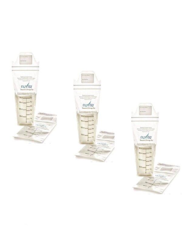 Sacchetti per latte materno 150 ml - Nuvita