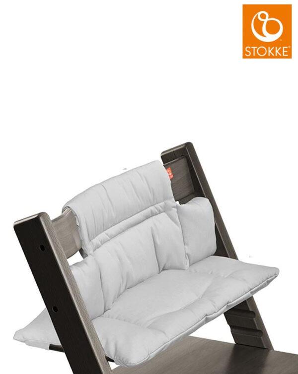 Cuscino per Stokke® Tripp Trapp® - grey melange - Stokke