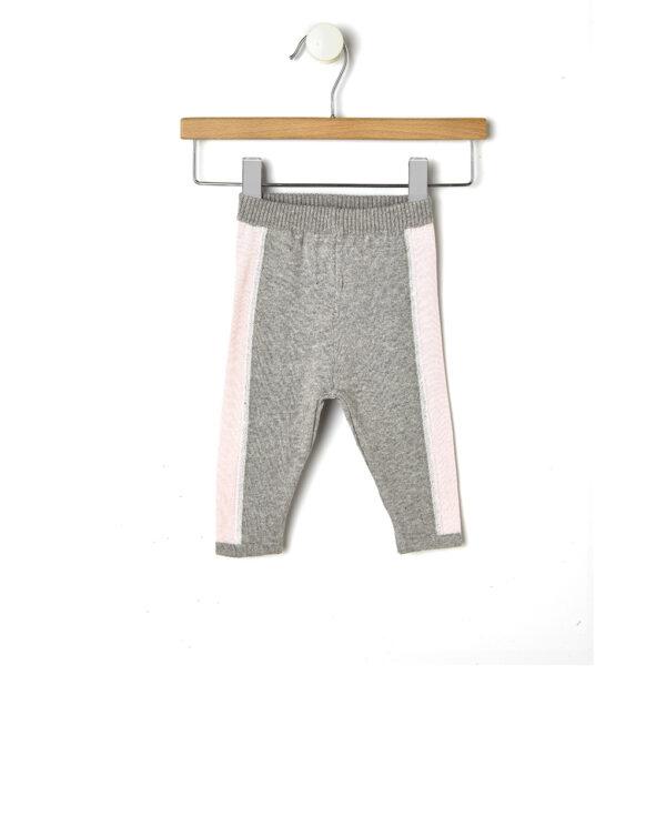 Completo in tricot rosa chiaro e grigio - Prénatal
