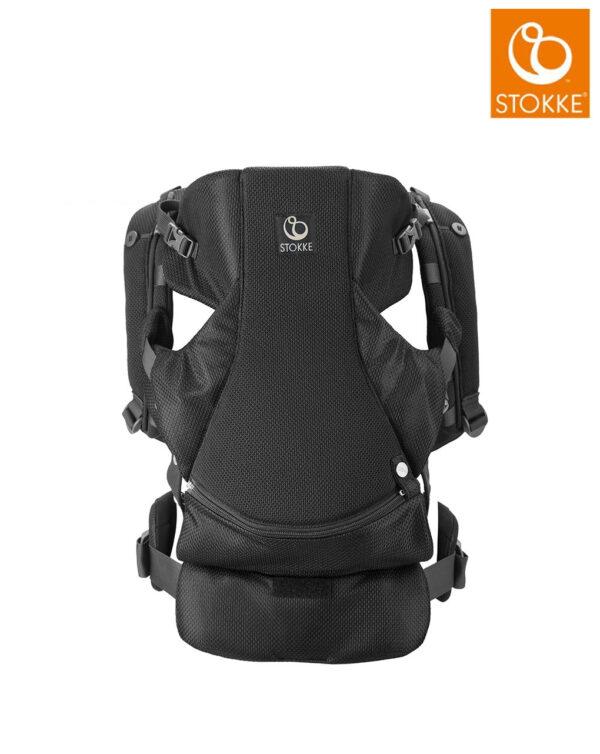 Marsupio anteriore Stokke® MyCarrier™ - black - Stokke