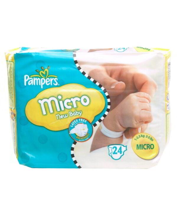 Pampers - Micro (1-2,5 Kg) - Prénatal