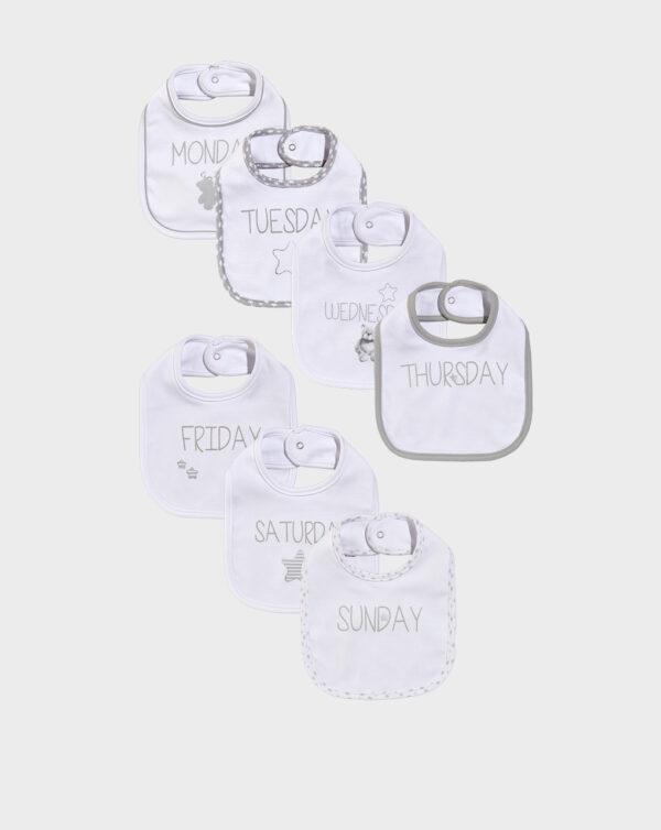 Pack 7 bavaglini confezione regalo - Prénatal