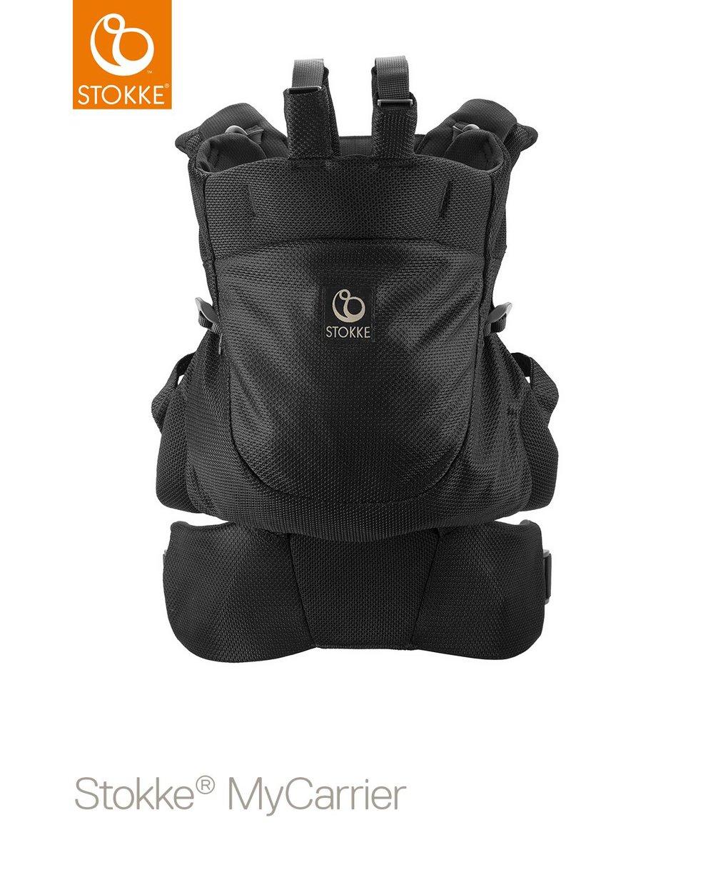 Stokke® mycarrier™ marsupio anteriore e posteriore - black mesh - Stokke
