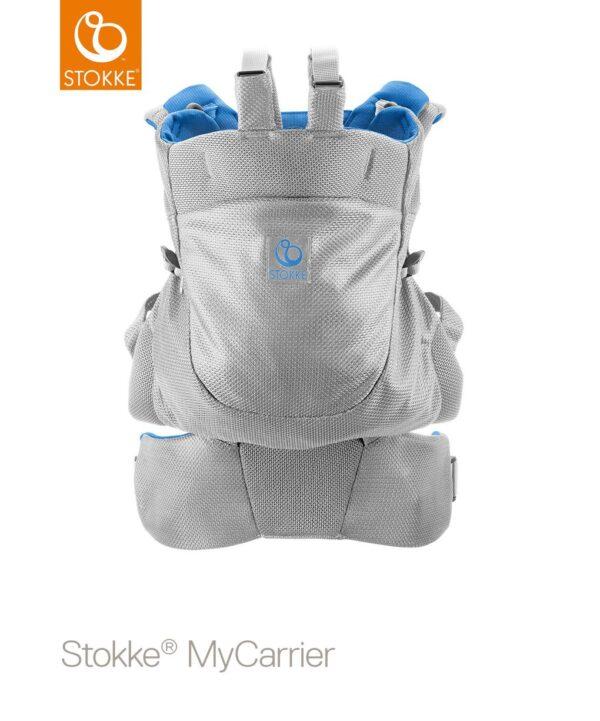 Marsupio posteriore Stokke® MyCarrier™ - marina mesh - Stokke