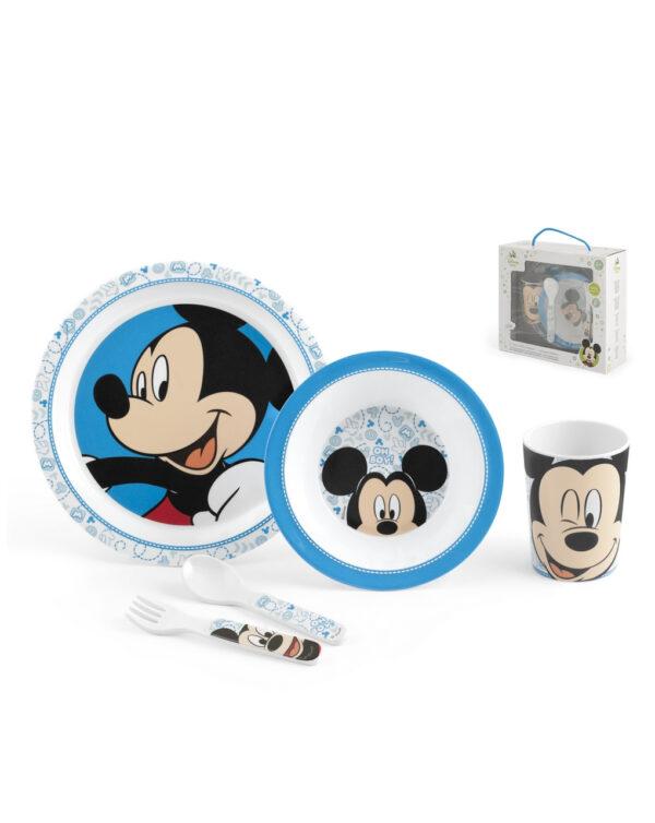 Set pappa 5 pezzi Mickey - Disney