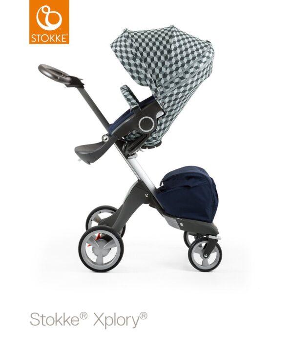 Style Kit per Seggiolino da passeggino Stokke - grey cube - Stokke