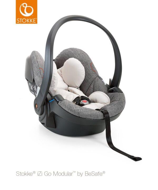 Stokke® iZi Go Modular™ by BeSafe® - black melange - Stokke