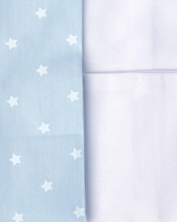 Completo 3 pezzi con stampa orsetto e stelline azzurre - Prénatal