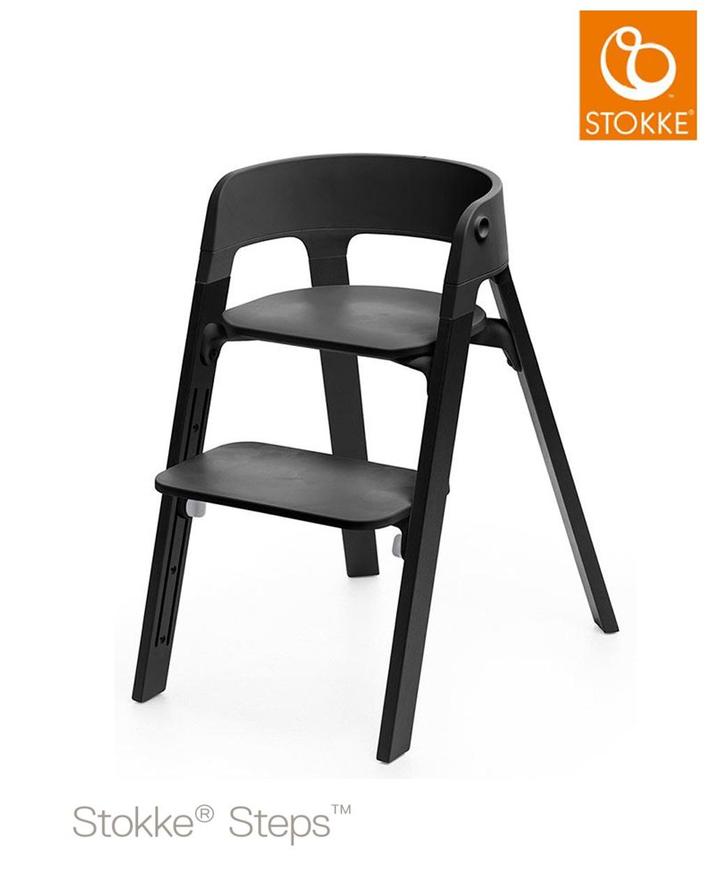 Seduta Stokke® Steps™ Sedia - nera