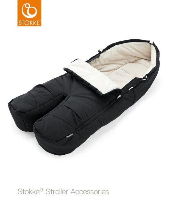 Stokke® Sacco Coprigambe - black - Stokke