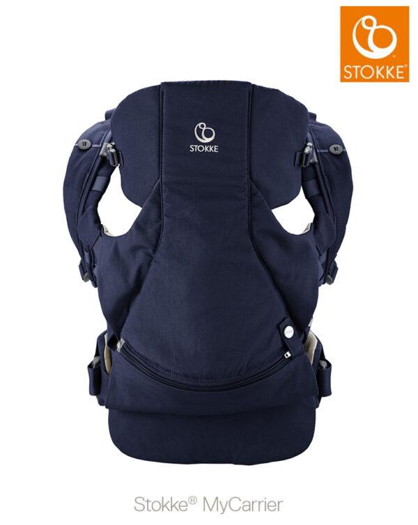 Stokke® MyCarrier™ Marsupio anteriore - deep blue - Stokke