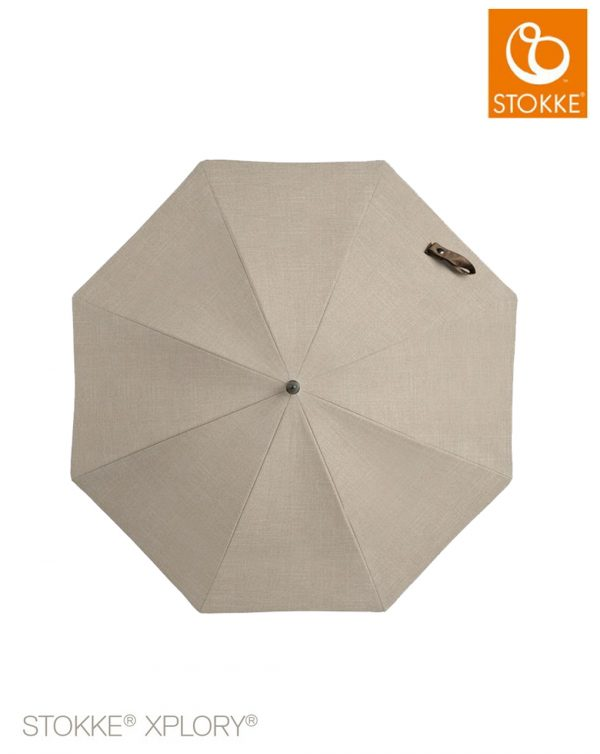 Stokke® Passeggino Ombrellino Parasole - beige melange - Prénatal