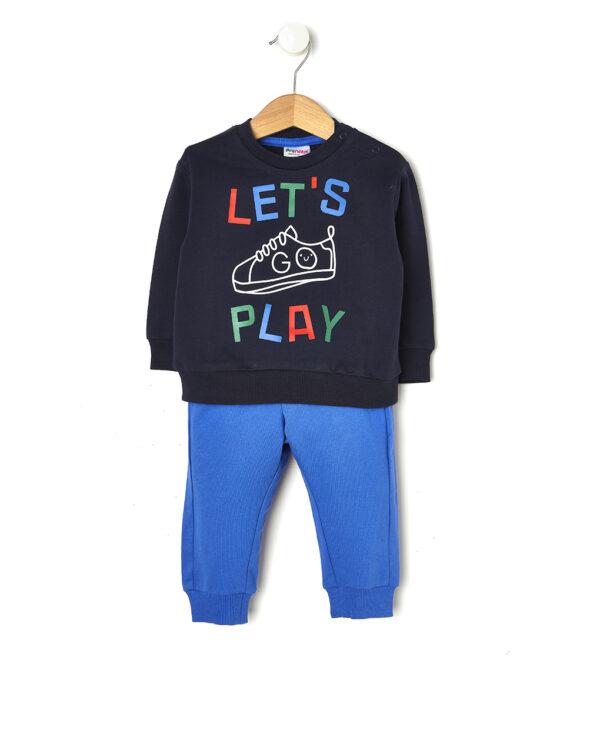 """Tuta da jogging con scritta """"Let's Play"""" - Prénatal"""