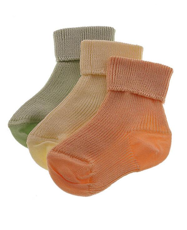 Calzini corti colorati per prematuri - Prénatal